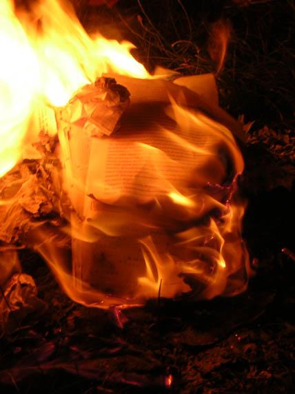 appunti in fiamme