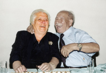 nonni al loro cinquantesimo