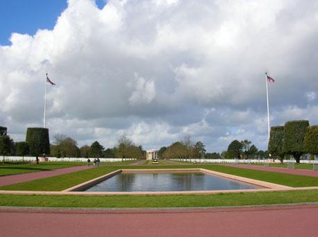 cimitero americano in normandia